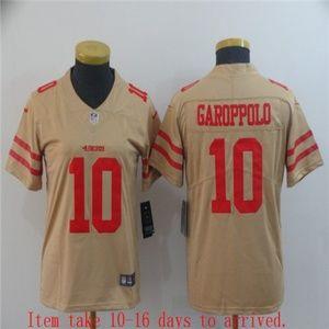 Women 49ers Jimmy Garoppolo Jersey Inverted